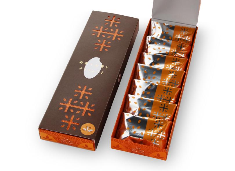 お米とお茶とチョコレート ほうじ茶