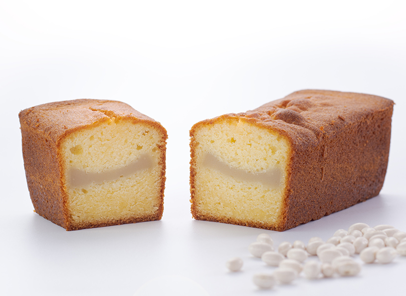 あんパウンドケーキ しろあん
